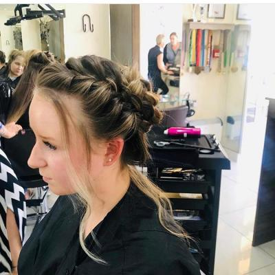 Wedding Dressed Hair 10