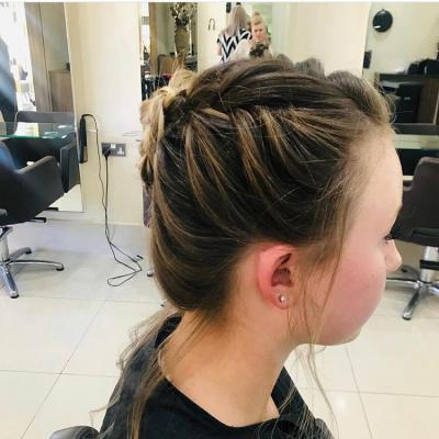 Wedding Dressed Hair 9